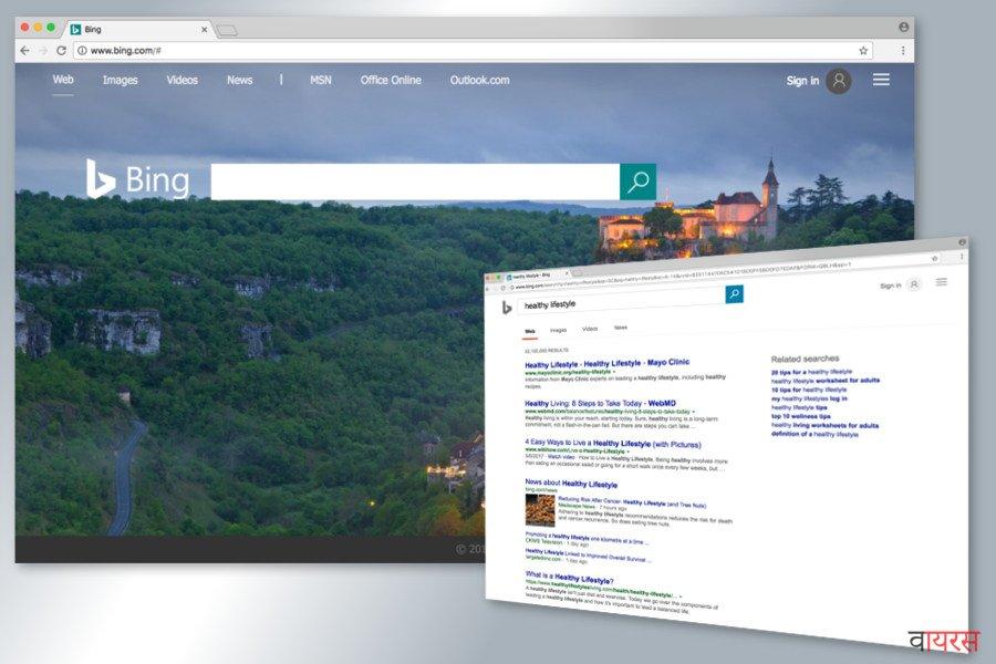 Bing अनुप्रेषण वायरस