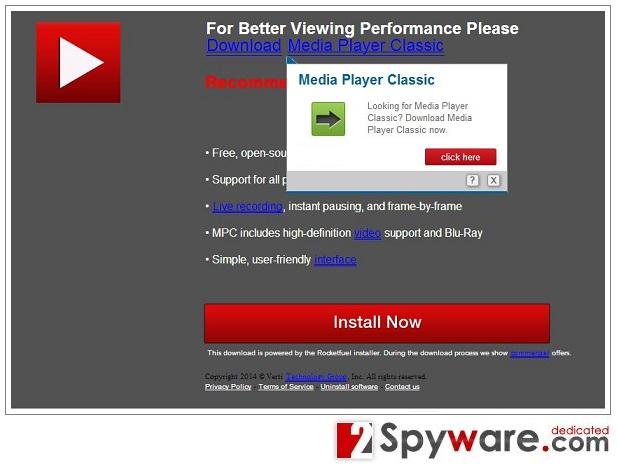 Downloadju.com पॉप-अप वायरस की तस्वीर