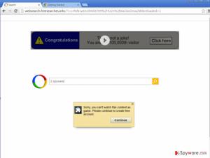 Google redirect