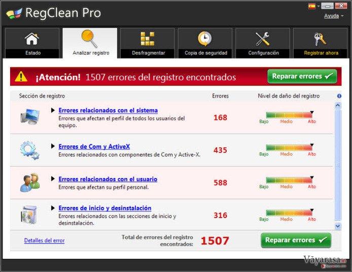 RegClean Pro की तस्वीर