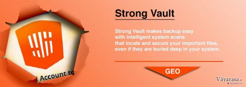 StrongVault Online Backup