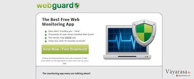 Web Guard वायरस की तस्वीर
